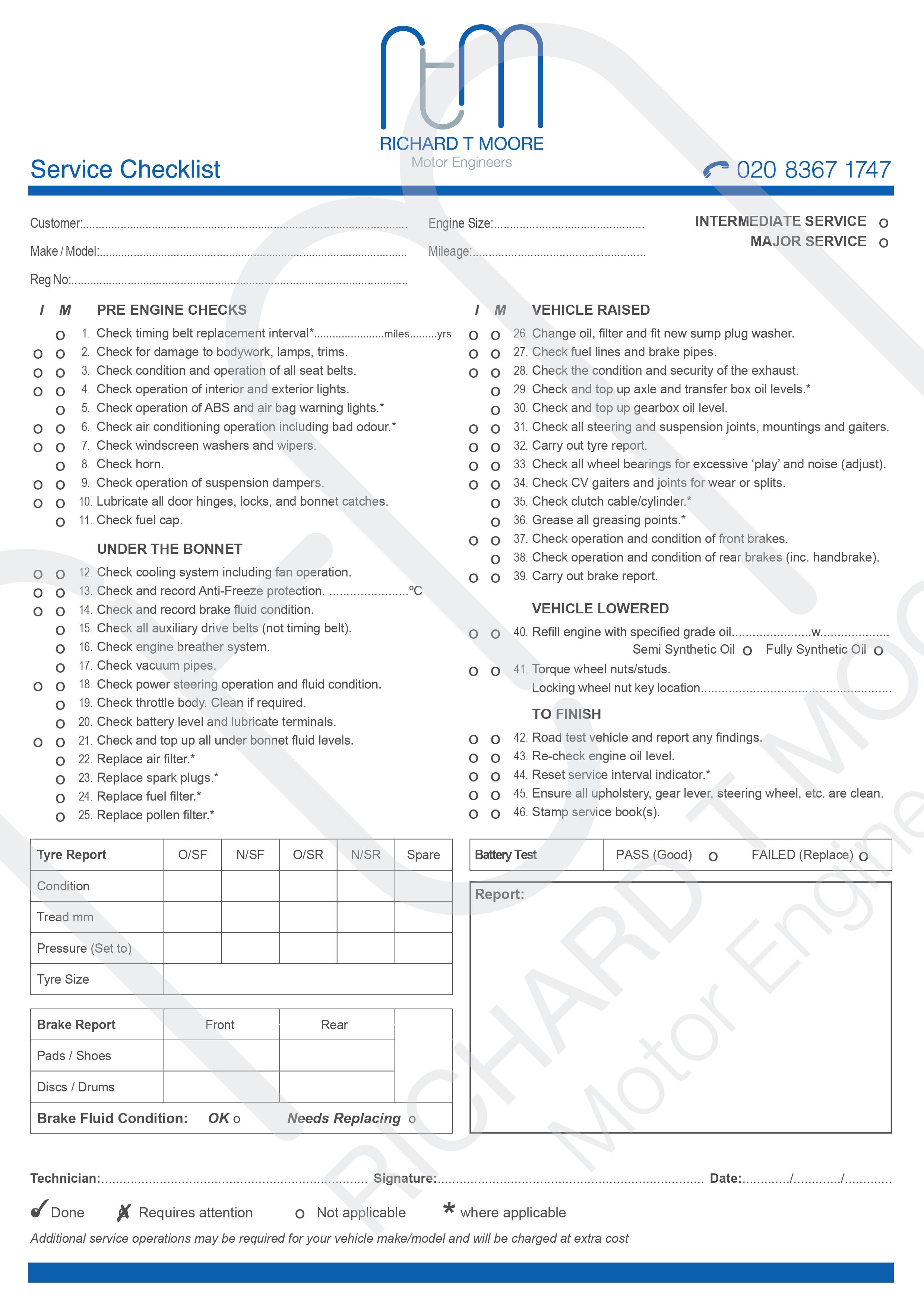 RTM Service Checklist Newlogo3 01